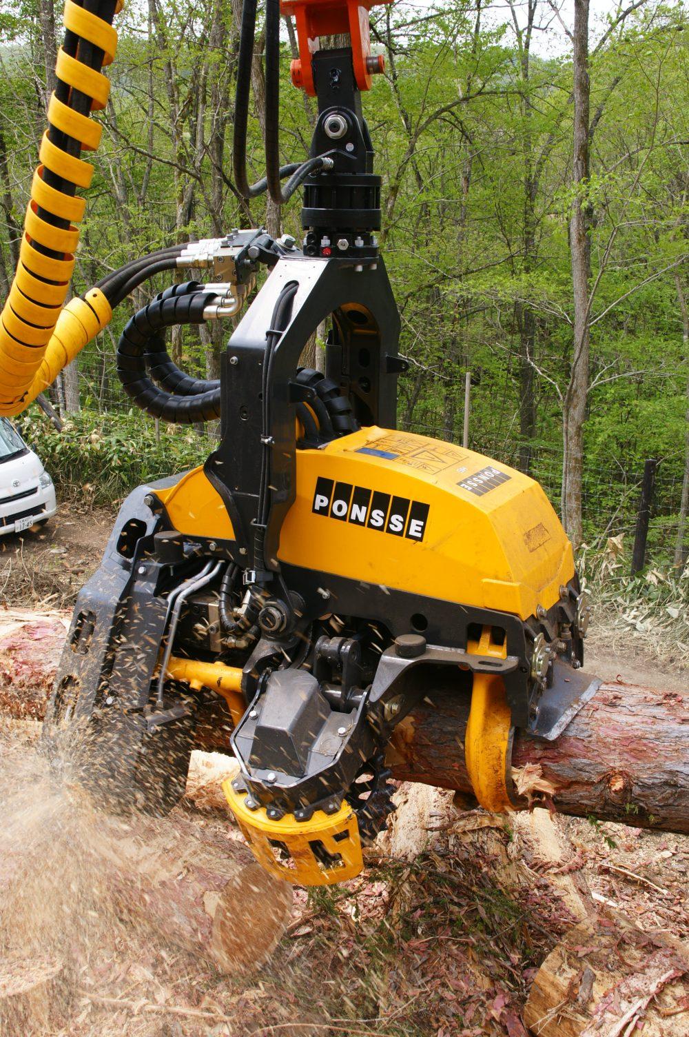林業機械修理