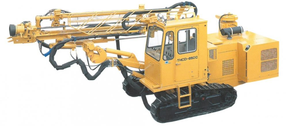 THCD-650C型(キャビン付き)